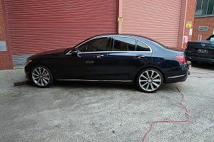 Mercedes C250 with the application of Cquartz Finest paint protection in Melbourne Paint Protection Melbourne image 21