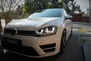 Volkswagen Golf R in White - paint protection melbourne Paint Protection Melbourne image 7