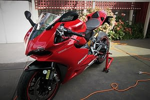 Ducati 899 Panigale exterior paint protection in Melbourne Paint Protection Melbourne image 8