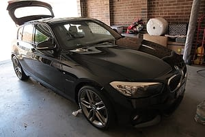 BMW 120i paint protection Melbourne, mobile service, Cquartz finest Paint Protection Melbourne image 2