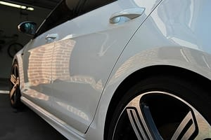 Volkswagen Golf R in White - paint protection melbourne Paint Protection Melbourne image 5