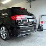 Audi S3 in black with Cquartz finest paint protection Melbourne Paint Protection Melbourne image 3