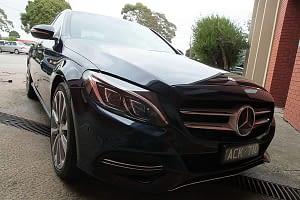 Mercedes C250 with the application of Cquartz Finest paint protection in Melbourne Paint Protection Melbourne image 19