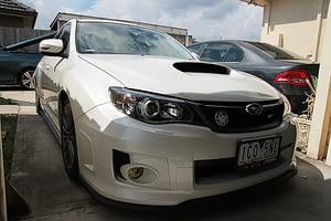 Subaru WRX new car paint protection Paint Protection Melbourne image 5