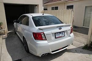 Subaru WRX new car paint protection Paint Protection Melbourne image 2