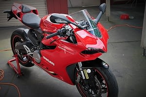 Ducati 899 Panigale exterior paint protection in Melbourne Paint Protection Melbourne image 1