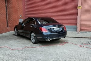 Mercedes C250 with the application of Cquartz Finest paint protection in Melbourne Paint Protection Melbourne image 22
