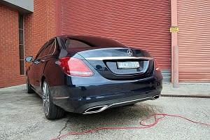Mercedes C250 with the application of Cquartz Finest paint protection in Melbourne Paint Protection Melbourne image 14