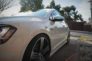 Volkswagen Golf R in White - paint protection melbourne Paint Protection Melbourne image 2
