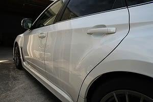 Subaru WRX new car paint protection Paint Protection Melbourne image 3