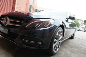 Mercedes C250 with the application of Cquartz Finest paint protection in Melbourne Paint Protection Melbourne image 17