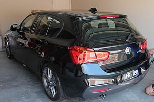 BMW 120i paint protection Melbourne, mobile service, Cquartz finest Paint Protection Melbourne image 4