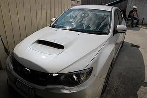 Subaru WRX new car paint protection Paint Protection Melbourne image 6