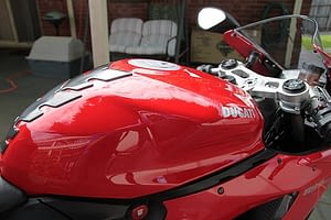 Ducati 899 Panigale exterior paint protection in Melbourne Paint Protection Melbourne image 4
