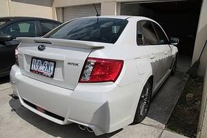 Subaru WRX new car paint protection Paint Protection Melbourne image 1